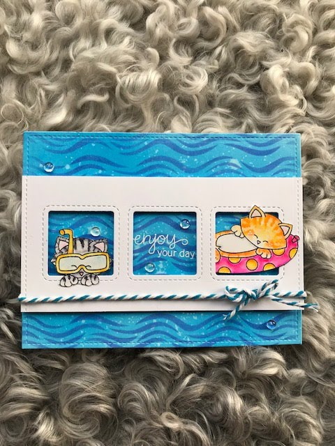 Enjoy your day by Marianne features Waves and Newton' Summer Vacation by Newton's Nook Designs; #newtonsnook