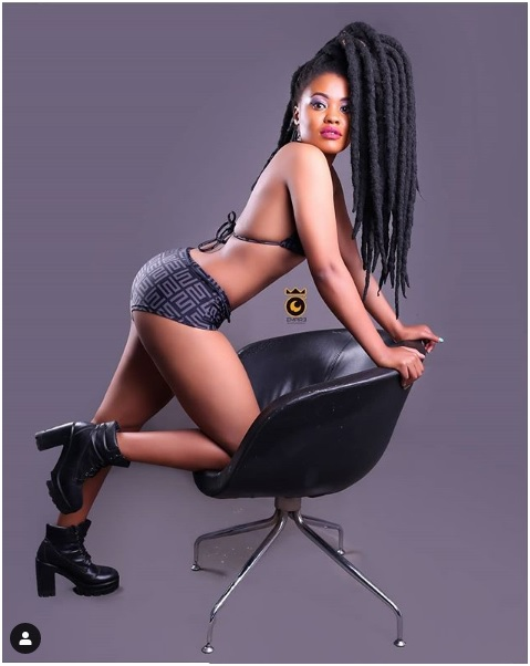 1 - Meet slay queen BECKY who's hired by top Kenyan artists when they want to display NAKED women in their videos (PHOTOs)