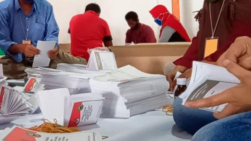 INDES-POLITIK- KPU BLORA BELUM DITERIMA SARANA PEMILU RAMAH DIFABEL 01