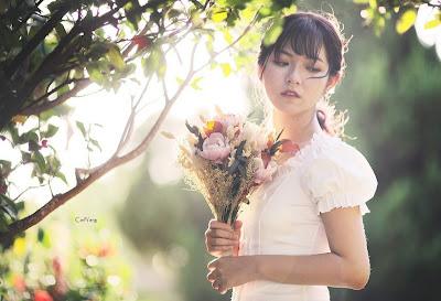 新娘髮型 浪漫輕婚紗輕型旅拍婚禮造型
