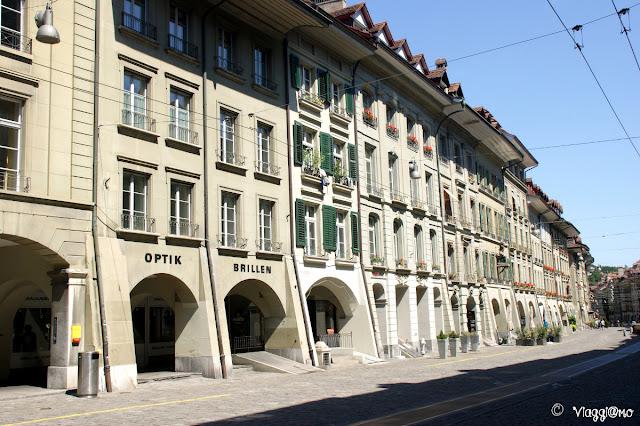 Una delle principali vie del centro di Berna