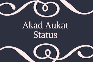 Akad Aukat Status