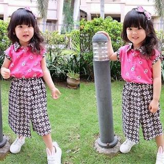 Kebaya Kaos Anak