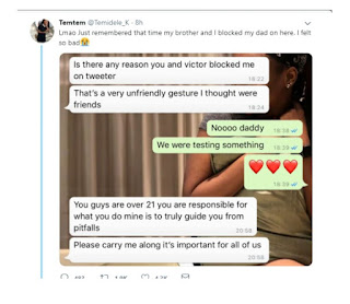 Nigerian Siblings Block Their Father On Twitter But His Reaction When He Found Out