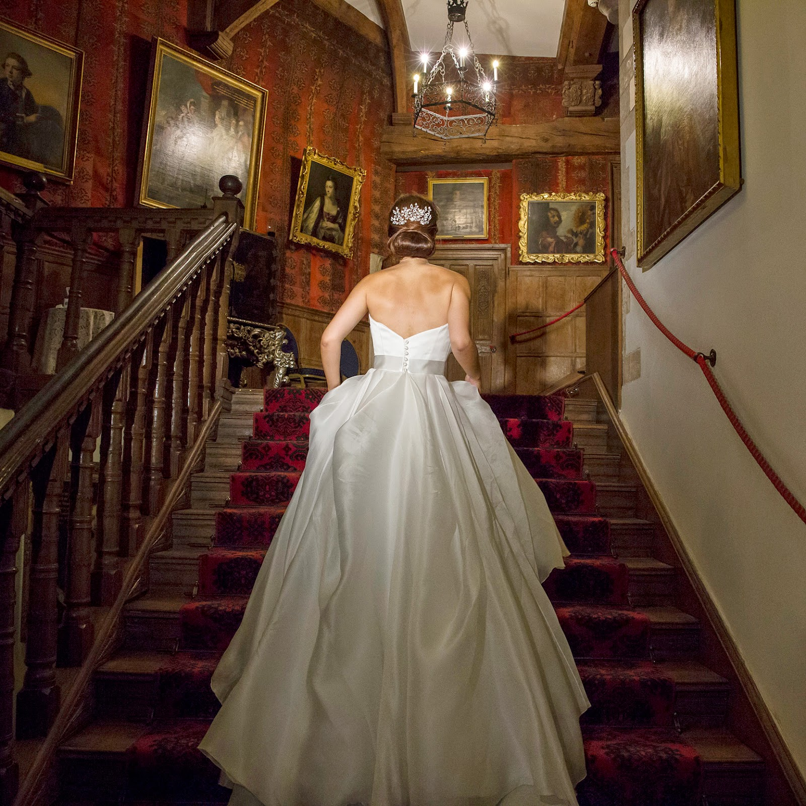 Whilst Guests Relaxed And Mingled In The Drawing Rooms Berkeley Castle Team Were Magically Transforming Great Hall For Evening Reception