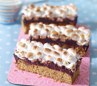 gooey s'mores bars recipe