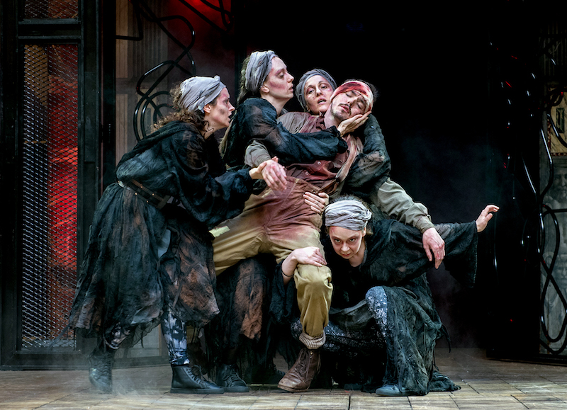 temptation in macbeth 2018-10-8 the three witches, also known as the weird sisters or wayward sisters, are characters in william shakespeare's play macbeth (c 1603–1607) they hold a striking resemblance to the three fates of classical mythology, and are, perhaps, intended as a twisted version of the white-robed incarnations of destiny.