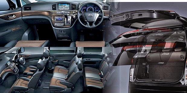 new elgrand interior