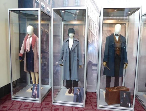 Original Fantastic Beasts movie costumes