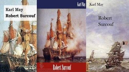 Karl May A zsákmány kapitány Robert Surcuf