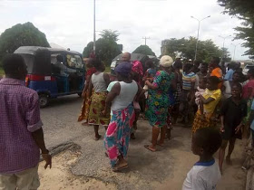 A Car Knocked Down A 4-year-old boy On His Way To RCCG Children's Day party, Bayelsa