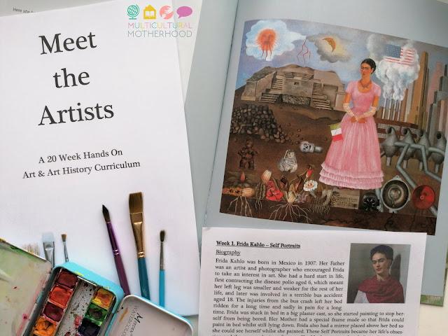 Meet the Artists Curriculum Review