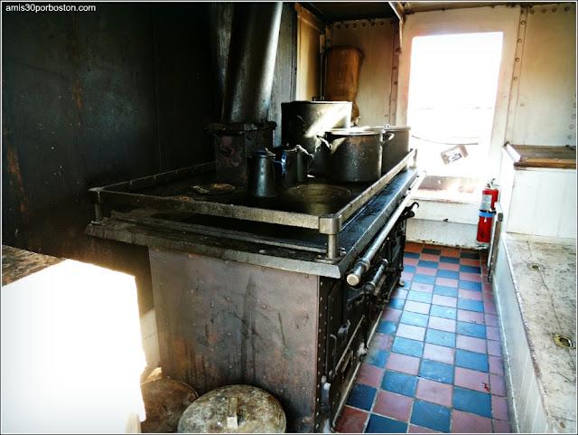 Cocina Tripulación del Balclutha