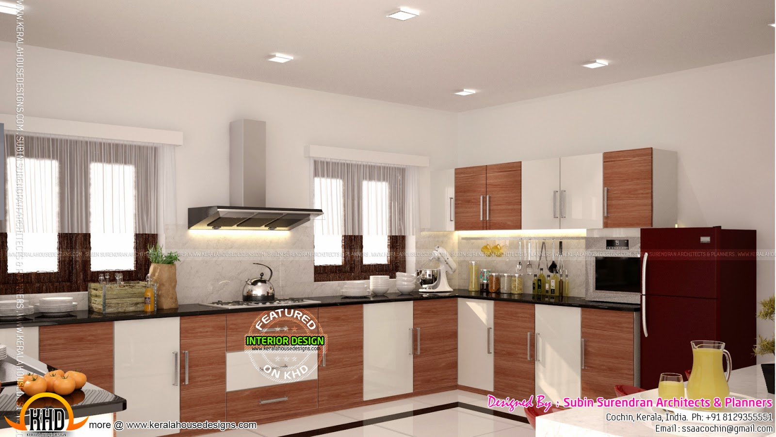 Kerala Home Front Elevation Design : Beautiful home interior designs kerala design and