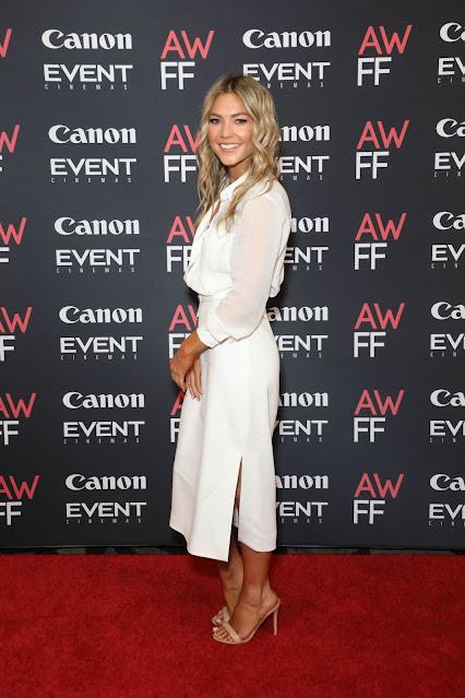 Samantha Frost at 2021 Australian Woman's Film Festival Launch