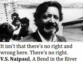 v s naipaul quotes