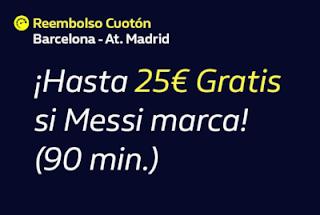 william hill Reembolso Barcelona vs Atletico 9 enero 2020