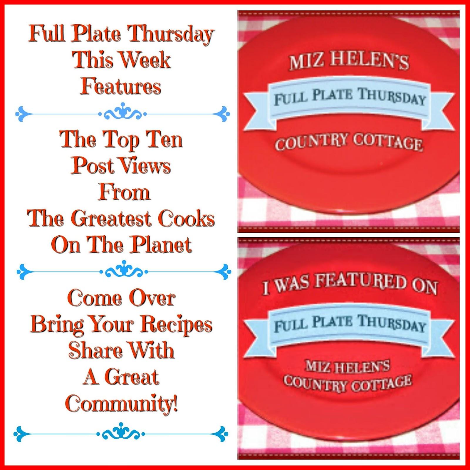 Full Plate Thursday, 560