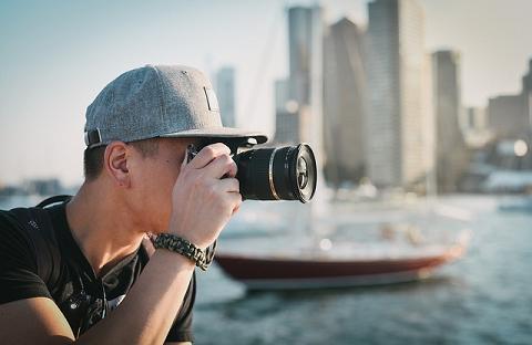 Colocando em pratica o que aprendeu no curso de fotografia