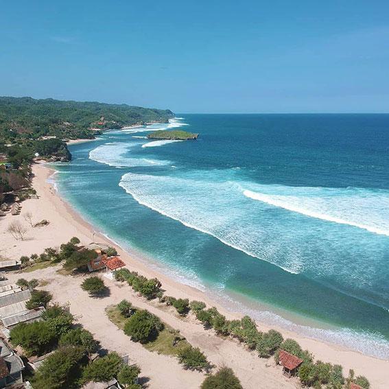 Pantai Populer di Yogyakarta