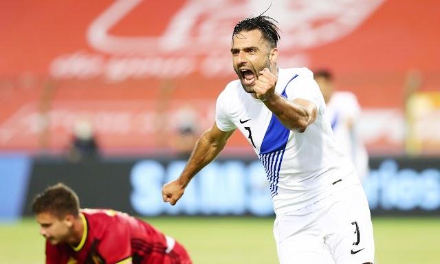 Βέλγιο-Ελλάδα (1-1): «Όρθια» η Εθνική μας στο Βέλγιο με εξαιρετικό δεύτερο ημίχρονο