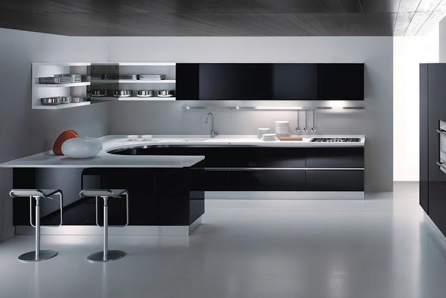 Desain Dapur Minimalis Type 45