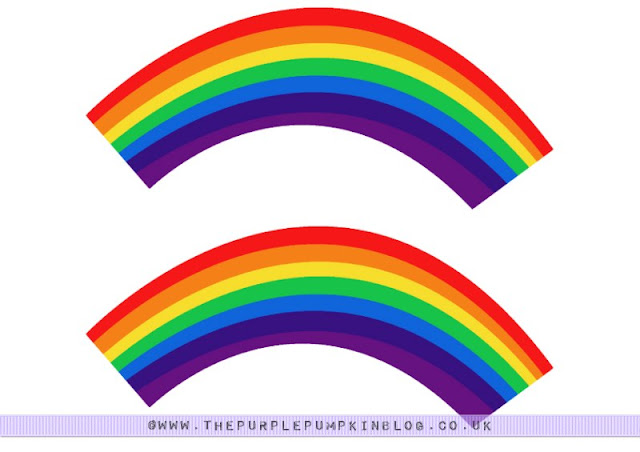 image regarding Free Printable Rainbow titled Rainbow Cupcake Wrappers - Totally free Printable