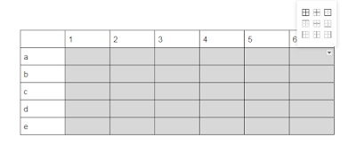 Mengedit garis tabel Google Docs