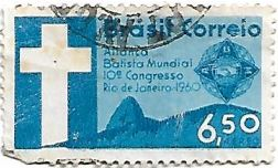 Selo 10º Congresso da Aliança Batista Mundial