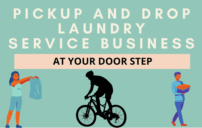 Pick up and Drop off Laundry Service ! Start Laundry Service