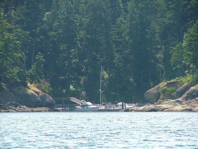 Rolfe Cove on Matia Island