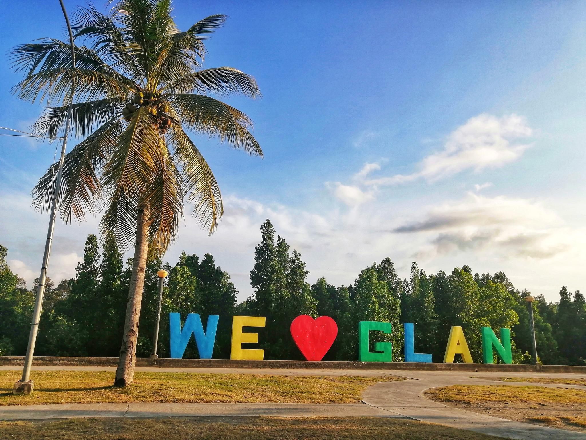 We Love Glan Sarangani Philippines marker