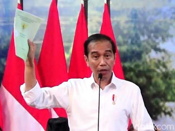 Jokowi Sertifikat