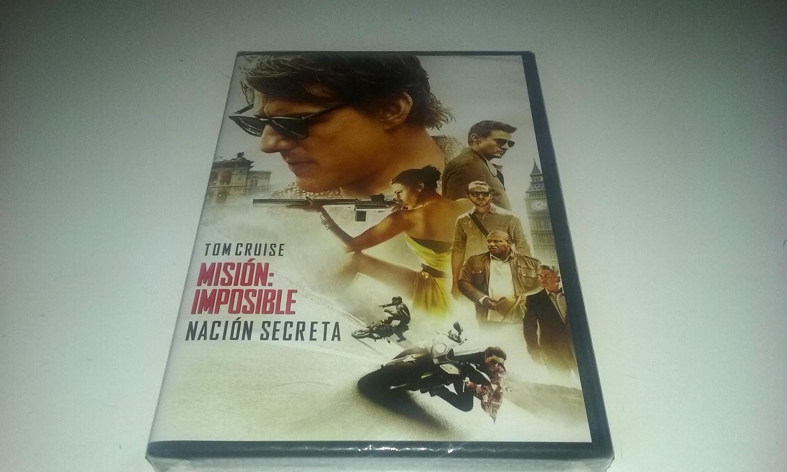 Consigue un DVD de 'Misión imposible: Nación secreta'