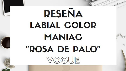 Labial color maniac Mate Rosa de Palo - Vogue