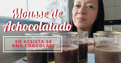 Mousse de Achocolatado
