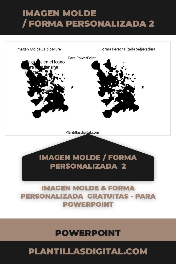 imagen molde forma personalizada para powerpoint gratuitos 2 a