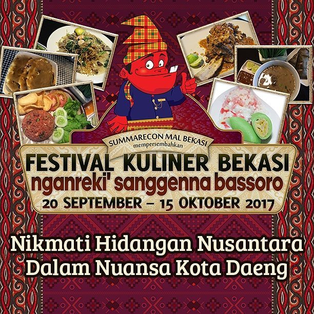 Festival Kuliner Bekasi 2017 - Nganreki' Sanggena Bassoro