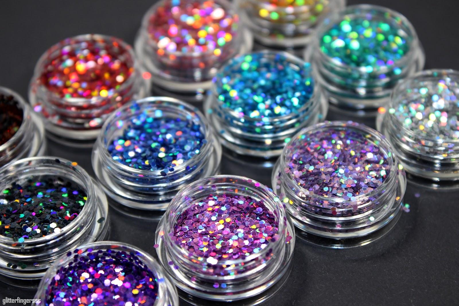 Born Pretty Store | Glitter placement with loose holo glitters ...