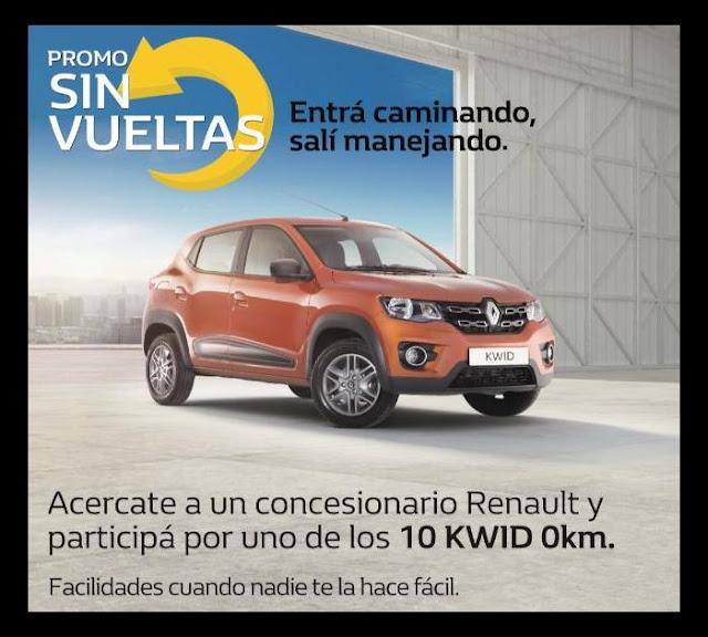 RENAULT LANZA la Promo SIN VUELTAS y entrega 10 Renault Kwid 0km como premio