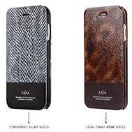 เคส-iPhone-6-Plus-รุ่น-เคส-iPhone-6-Plus-หนังวัวแท้-บุลายหนังงูด้วย-PU-Leather-สินค้านำเข้า-ของแท้