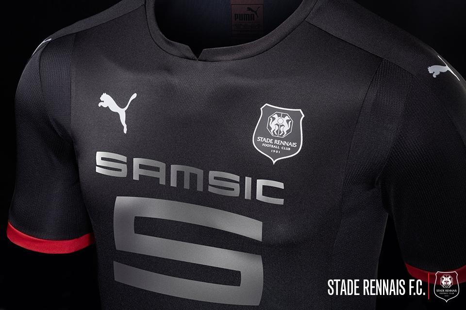 Stade rennais 17 18 away kit revealed footy headlines - Logo stade rennais ...