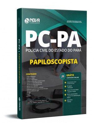 Apostila Concurso PC PA 2020 PDF Edital Online Inscrições Papiloscopista PC PA 2020