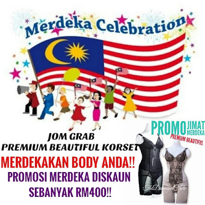 Promosi Merdeka - Premium Beautiful Korset