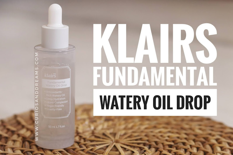 Klairs Fundamental Watery Oil Drop, Klairs Fundamental Watery Oil Drop review, Klairs Fundamental Watery Oil Drop india, Klairs india