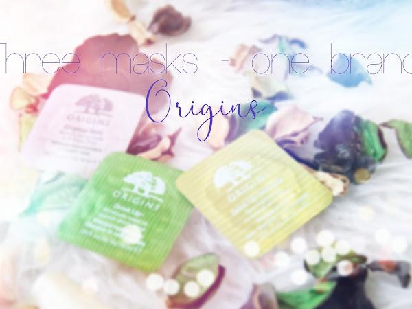 Три маски - една марка :: Origins