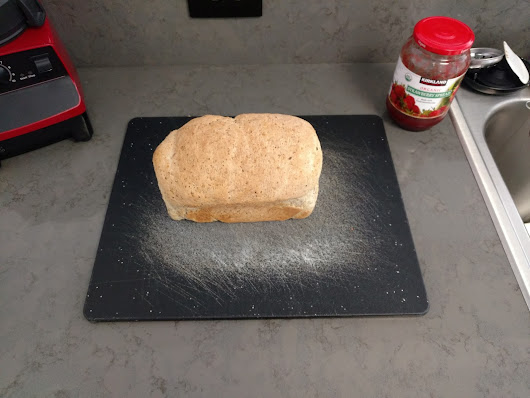 Simple Vegan White Bread for the Bread Machine...