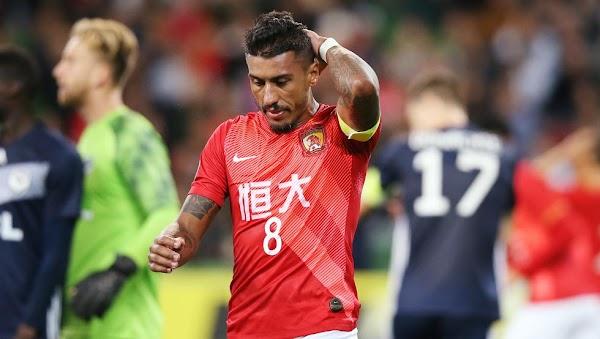 Oficial: Guangzhou FC, rescinde contrato Paulinho