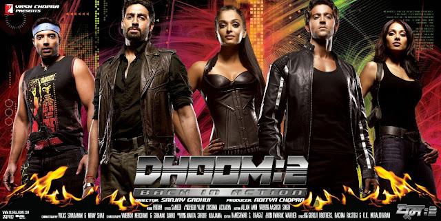 Dhoom 2 (2006) -  Hrithik Roshan, Abhishek Bachchan And Aishwarya Rai Bachchan