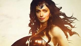 Manushi Chillar as a 'wonder women'